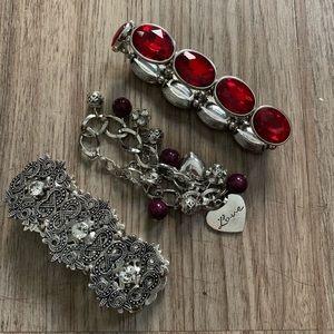 JEWELRY LOT - (3) Bracelets